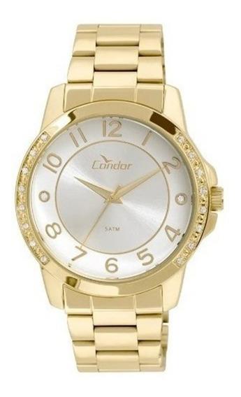 Relógio Feminino Condor Dourado Co2035kom/4k