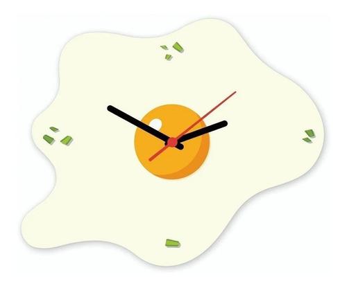 Relógio De Parede Ovo Frito Beek Geek's Rp-ovo