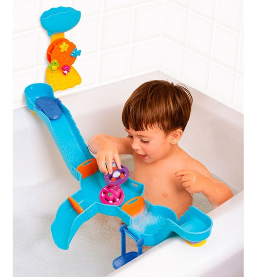 Brinquedo De Banho - Parque Aquático De Banheira - Baby Wish