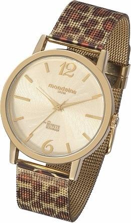 Relógio Mondaine Ivete Sangalo Dourado. Usado 1 Vez