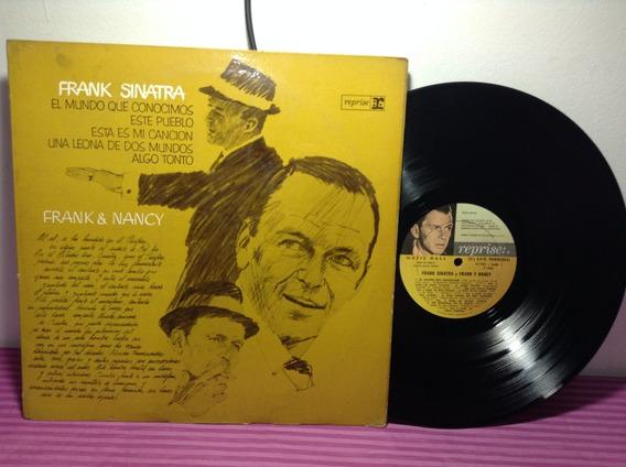 Frank Sinatra Frank & Nancy Lp Vinilo
