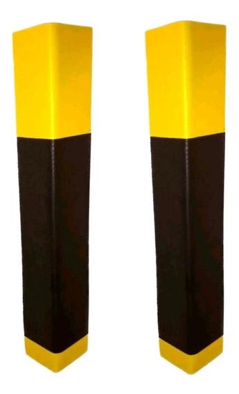 Kit 2 Protetor De Coluna Para Estacionamento 10mm