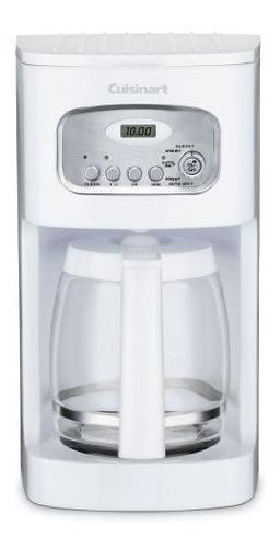 Cuisinart Dcc-1100 Cafetera Programable De 12 Tazas, Blanco
