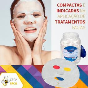 Máscaras Desidratadas Tratamento Facial Ozonio 250un