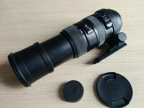 Lente Sigma Nikon 150 500 Mm Ac Troca Rexsom