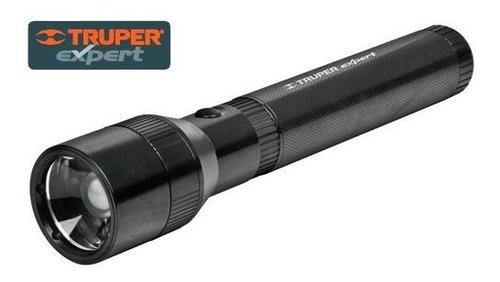 Linterna Aluminio Recargable 100 Lumenes Truper Expert 16778