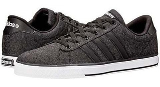 Adidas NEO SE Daily Vulc HombreMujer Suede Zapatos marrón