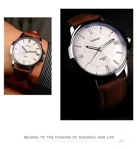 Lindos Relógios Yazoli Masculino + Brinde