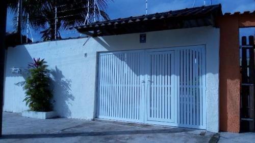 Imagem 1 de 13 de Linda Casa Geminada No Litoral Ref 3847dz