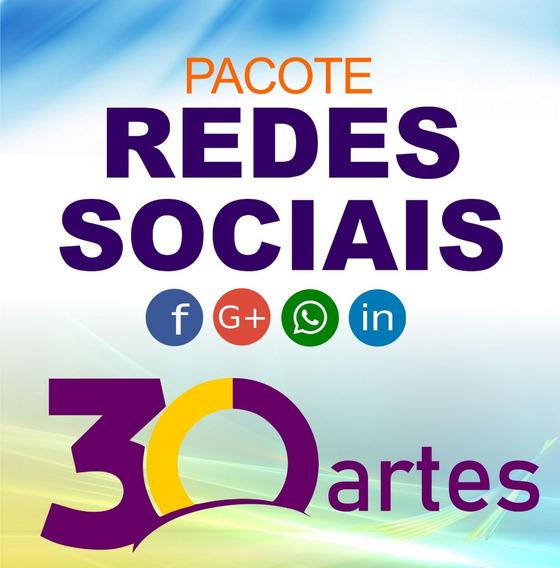 Arte Personalizada Para Redes Sociais Face Insta Pacote 30