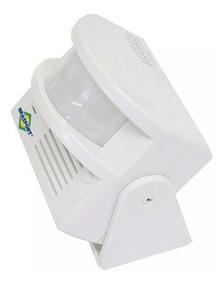 Anunciador De Presença Com Sensor Raio 8 Metros Brasfort