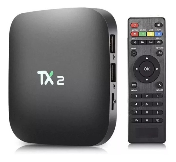 Conversor Smart Tv Box Tx2 3gb Ram 16gb Android + Bluetooth.