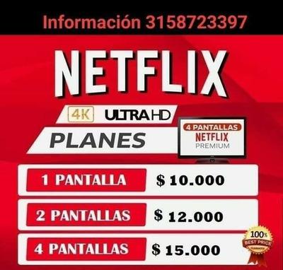 Cuentas Netflix Garantízadas