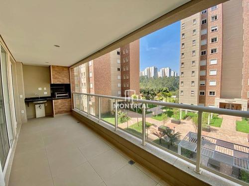 Apartamento À Venda, 136 M² Por R$ 1.073.000,00 - Tamboré - Santana De Parnaíba/sp - Ap1784