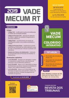 Vade Mecum Rt 2019 - Inclui Curso Do Ebradi Brasilia