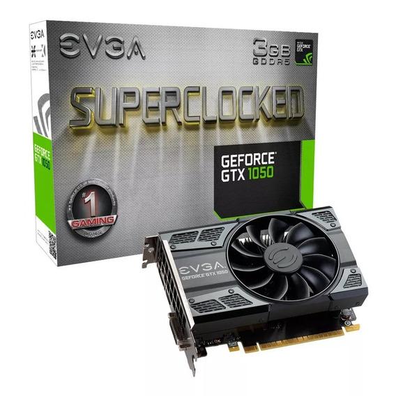 Placa Video Evga Gtx 1050 3gb Sc Gaming Gddr5 Cuotas Xellers