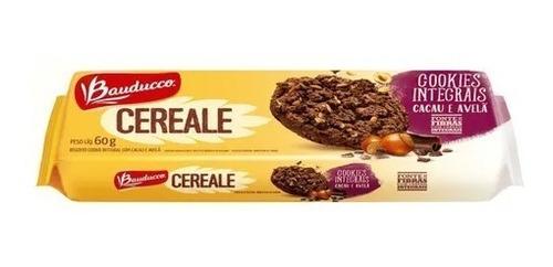 Imagem 1 de 1 de Cookies Cereale Cacau E Avelã Bauducco 60g