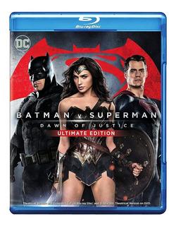 Batman V Superman Blu-ray + Dvd Nuevo Original Importado