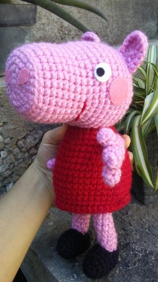 Peppa Pig Y George En Amigurumi - $ 790,00 en Mercado Libre | 568x320