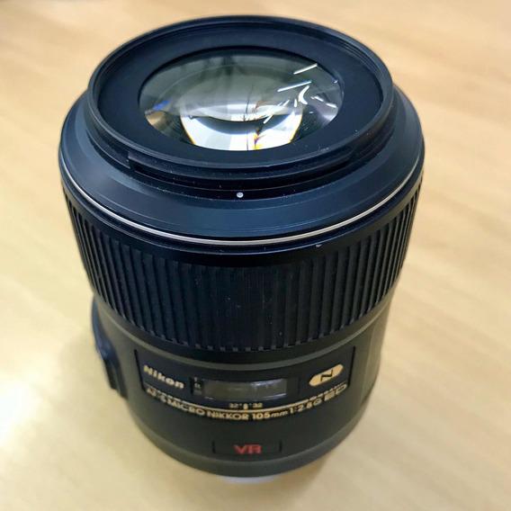 Lente Nikon 105mm Macro