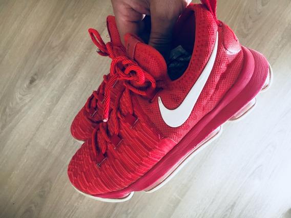Zapatilla Nike Kd 10 Rojas