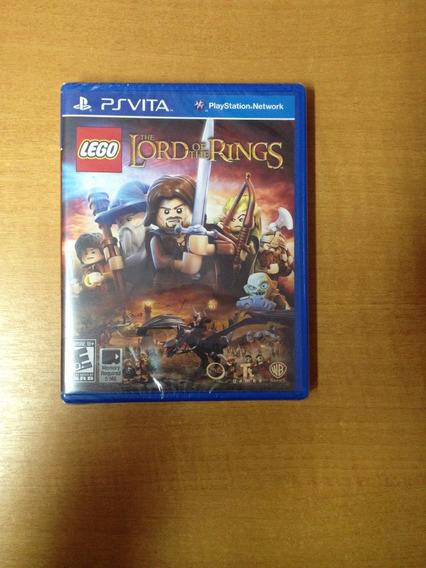 Ps Vita Lego The Lord Of The Rings Novo Lacrado
