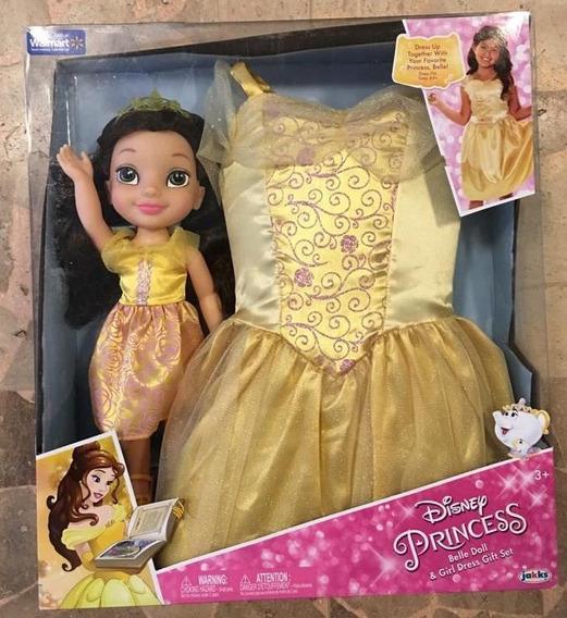Princesa Muñeca Bella+ Vestido Princesa Niña 4-6 Años Oferta