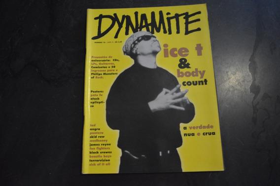 Dynamite 18 Ice T Body Count Revista