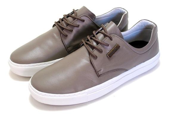 Sapato Tradicional Masculino De Cadarço Couro Legitimo Luxo