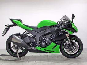 Kawasaki - Ninja Zx 6r 600cc - 2012 Verde