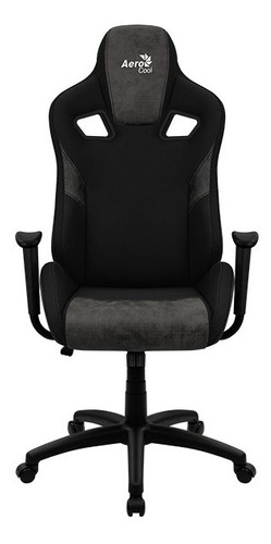 Silla Gamer Aerocool Count Iron Black