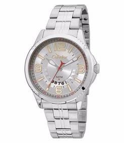 Relógio Condor Masculino Aço Dourado Visor Preto Co2115wv/3k