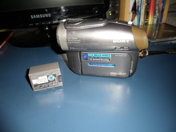 Filmadora Handycam Model Dcr-dvd403-ntsc Zoo125 Funciona