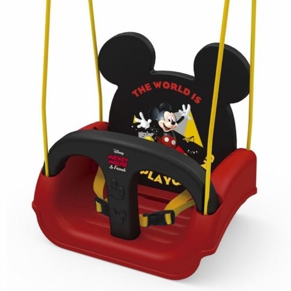 Balanço Infantil Bebe Mickey Assento Com Cinto Segurança