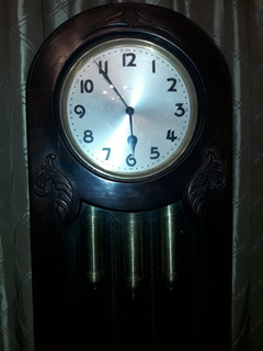 Antiguo Reloj De Pie Carillon