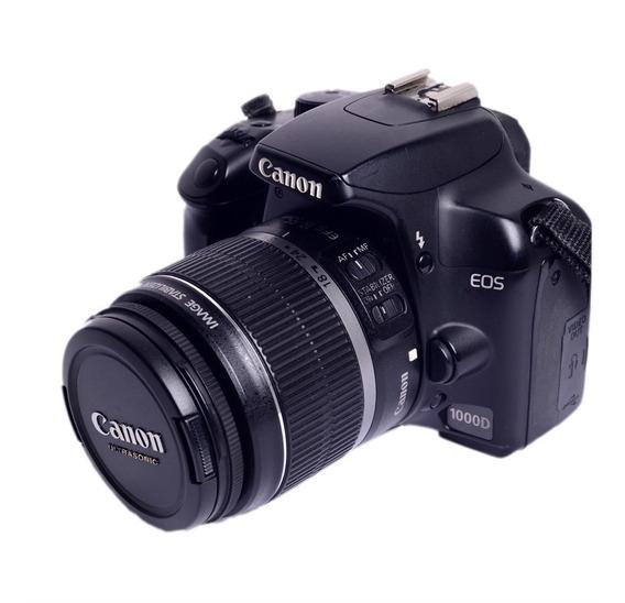 Câmera Eos 1000d