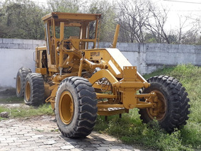 Motoniveladora Caterpillar 140g 1986