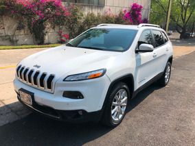 Jeep Cherokee 2014 Limited Piel Gps Super Cuidada!