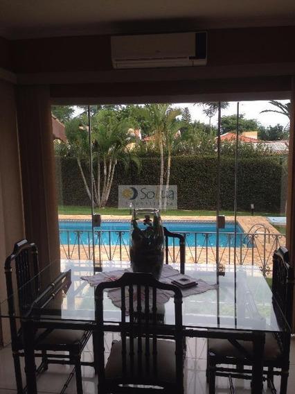 Casa Residencial Para Venda E Locação, Parque Taquaral, Campinas - Ca0425. - Ca0425