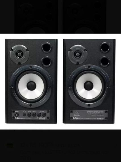 Par De Caixas Monitores De Áudio Behringer Ms40