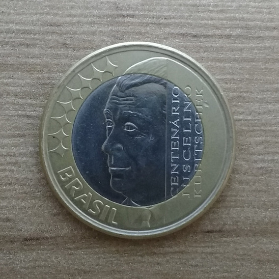 Moedas Nacionais/moedas Comemorativas-juscelino Kubitschek