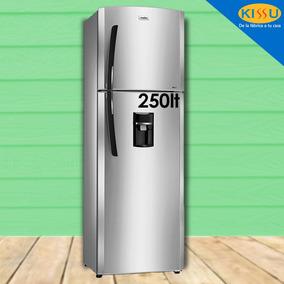 Refrigeradora Mabe 250lts 12 Pies Dispensador No Frost Acero