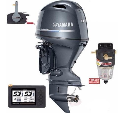 Imagen 1 de 4 de Motor Fuera De Borda Yamaha 115 Hp 4 Tiempos