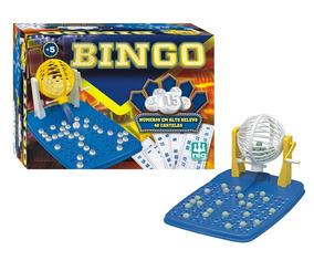 Jogo De Bingo C/ 48 Cartelas E Globo Giratório - Nig