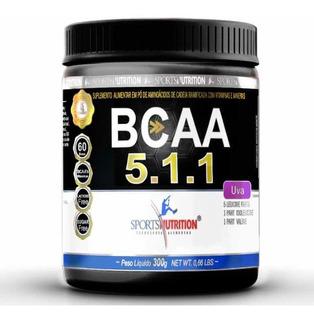 Bcaa 5:1:1 Sports Nutrition Pó 240g