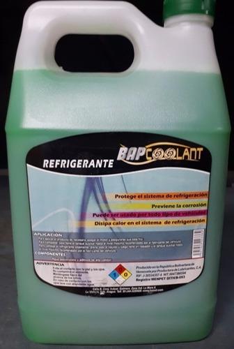 Refrigerante Verde Bap Coolant 3,785 Lts