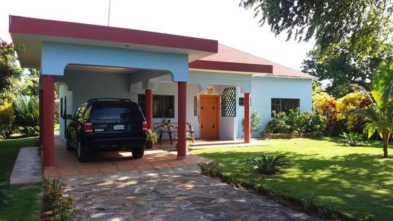 Villa Amueblada De 2 Habitaciones Carretera Nagua - Cabrera