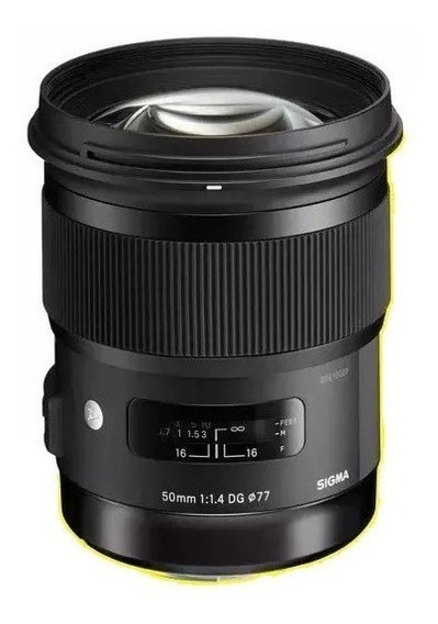 Lente Sigma 50mm F/1.4 Dc Hsm Art P/ Canon
