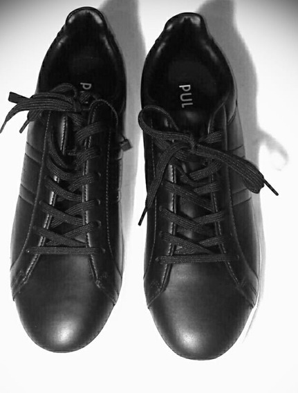Tenis Deportivos Talla 27.5 Negros Diseño Footwear Casual