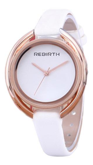 Rebasty Womens Watch Moda Senhoras Relógios Pulseira De Cour